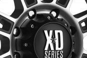 XD SERIES® - RIOT Matte Black with Machined Face Close-Up