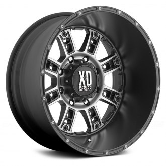 XD SERIES - RIOT Matte Black with Machined Face