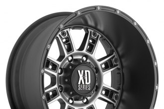 XD SERIES® - RIOT Matte Black with Machined Face