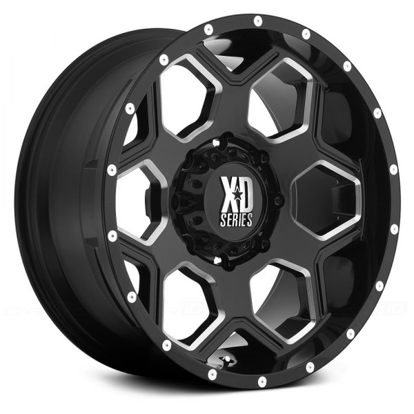 XD SERIES® - BATALLION Gloss Black with Milled Accents