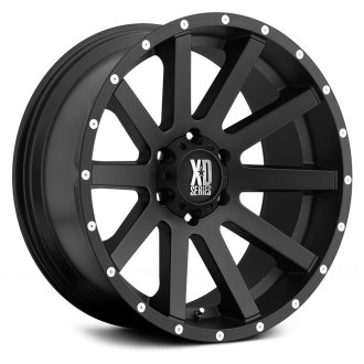XD SERIES® - HEIST Satin Black with Milled Flange