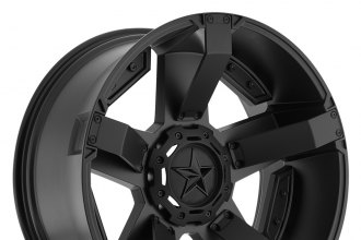 "XD SERIES® - ROCKSTAR II Satin Black (20"" x 9"", +30 Offset, 6x139.7 Bolt Pattern, 100.5mm Hub)"