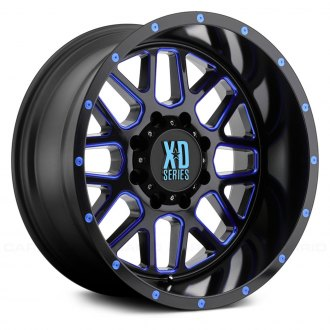 XD SERIES® - XD820 Satin Black with Blue Face