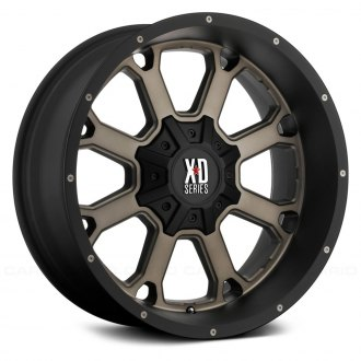 XD SERIES® - XD825 BUCK 25 Matte Black with Dark Tint