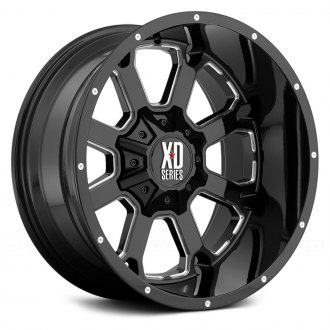 XD SERIES® - XD825 Gloss Black with Milled Accents