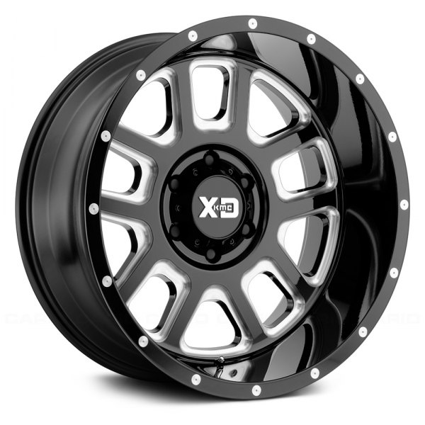 XD SERIES® - XD828 DELTA Gloss Black with Milled Accents
