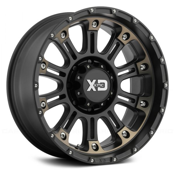 XD SERIES® - XD829 HOSS 2 Satin Black Machined with Dark Tint