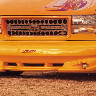Image may not reflect your exact vehicle! Xenon® - Python Style Front Bumper Cover