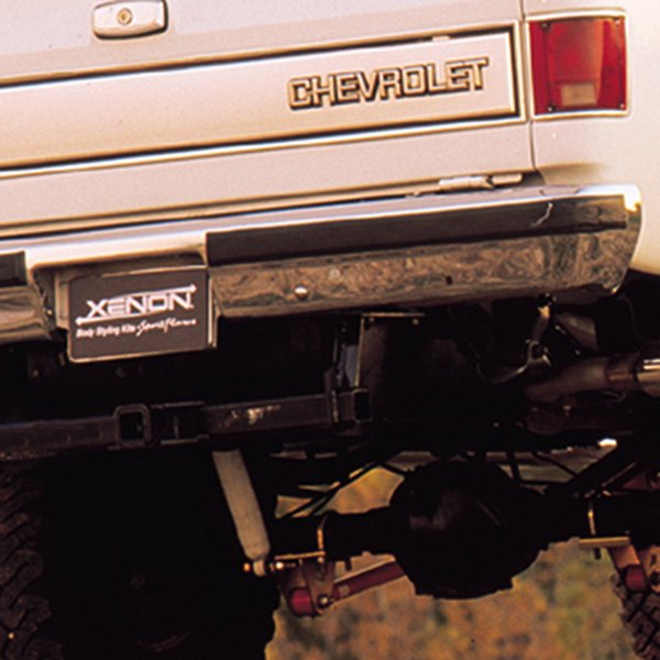Image may not reflect your exact vehicle! Xenon® - Rear Bumper Cover