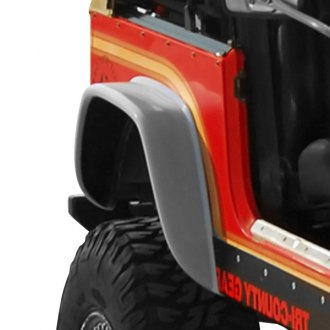 "Xenon® - Flat Style 5"" Rear Driver Side Fender Flare"