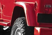 "Xenon® - 6"" Wide Traditional Style Rear Driver Side Fender Flare"