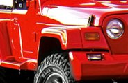 "Xenon® - 6"" Wide Traditional Style Fender Flares"