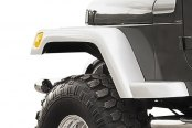 "Xenon® - 6"" Wide TJ Style Front Passenger Side Fender Flare"
