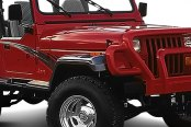 Xenon® - Wide Style Front Passenger Side Fender Flare Extension