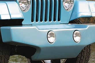Xenon® - Wrangler Style Front Bumper Cover with Round Light Openings