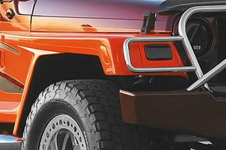 "Xenon® - Wrangler Style 6"" Wide Front Driver Side Fender Flare"