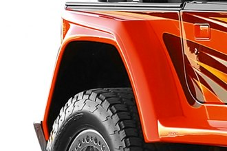 "Xenon® - Wrangler Style 6"" Wide Rear Driver Side Fender Flare"