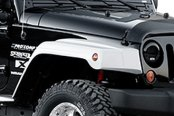 "Xenon® - 1.6"" Wider than Stock Step Down Style Fender Flare Kit"
