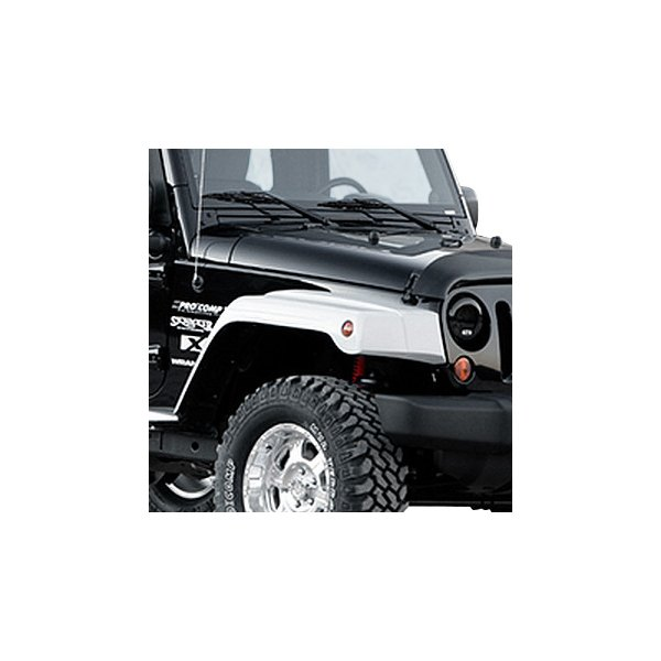 "Xenon® - 1.6"" Wide Step Down Style Fender Flare Kit"