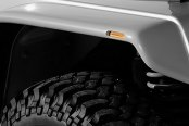 "Xenon® - 6"" Wide Flat Panel Style Front Driver Side Fender Flare"