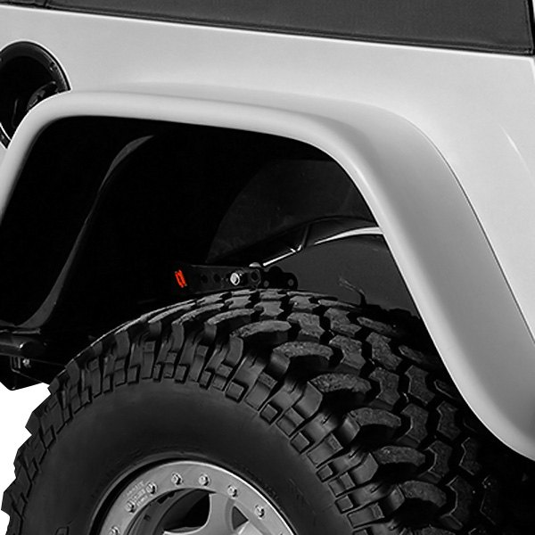 "Xenon® - 6"" Wide Flat Panel Style Rear Passenger Side Fender Flare"