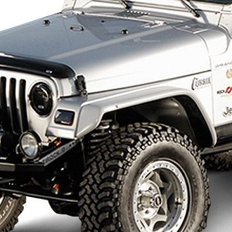 Xenon® - 6 Wide Flat Panel Style Fender Flare Kit