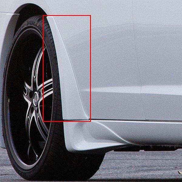 Xenon® - Street Style Rear Passenger Side Door Fender Flare & Xenon® 13072 - Street Style Rear Passenger Side Door Fender Flare