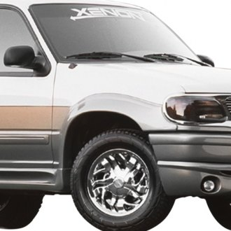 Xenon® - Street Style Front and Rear Fender Flares Kit