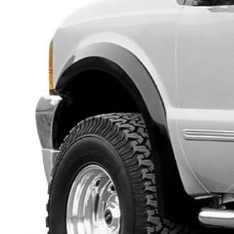 Xenon® - Excursion Street Style Black Front and Rear Fender Flares Kit