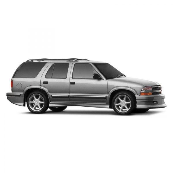 xenon chevy blazer ls zr2 4 doors 2003 style 1 body kit xenon style 1 body kit unpainted