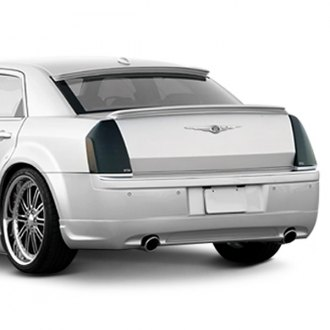Xenon® - Custom Style Rear Valance with Dual Exhaust Openings (Unpainted)