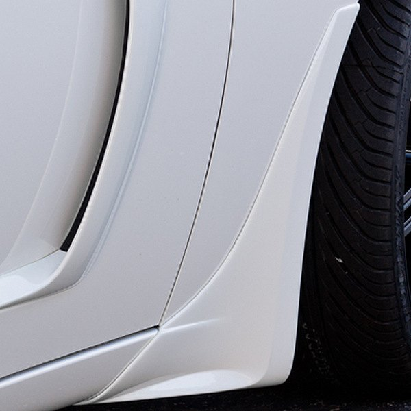 Image may not reflect your exact vehicle! Xenon® - Front Fender Spat Kit (Unpainted)