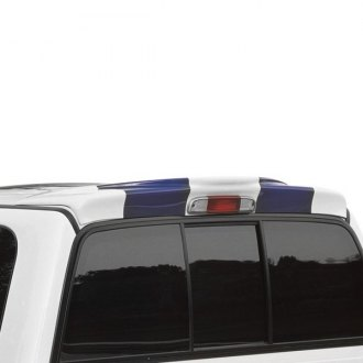 Xenon® - Rear Truck Spoiler with Light (Unpainted)