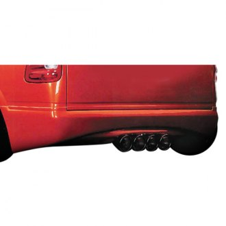 Xenon® - Wrap-Around Quad Exhaust Rear Valance (Unpainted)