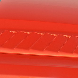 Xenon® - Passenger Side Louvered Hood Scoop