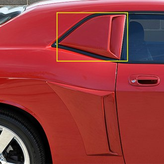 Xenon® - Passenger Side Quarter Window Scoop