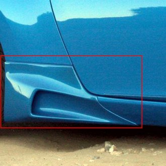 Xenon® - Rear Passenger Side Body Scoop with Black Vinyl