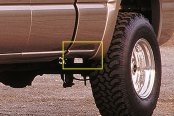 Xenon® - Mild Style Rear Driver Side Bed Skirt with Notch for Side Dual Exhaust