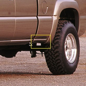 Xenon® - Rear Driver Side Bed Skirt with Notch for Side Dual Exhaust
