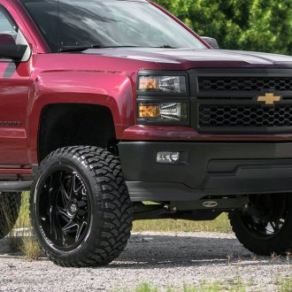 FUEL - Off Road Tires MT On Chevy Silverado