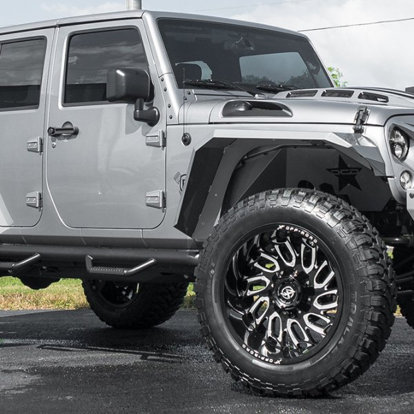 FUEL - Off Road Tires MT On Jeep Wrangler