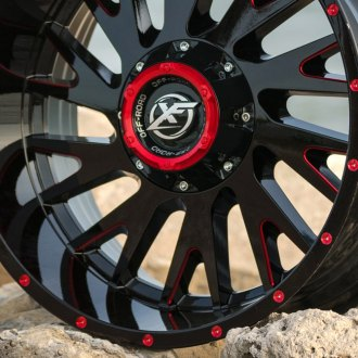 XF OFF-ROAD® - XF-221 Gloss Black Red Accents