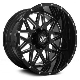 XF OFF-ROAD® - XF-211 Black with Milled Accents