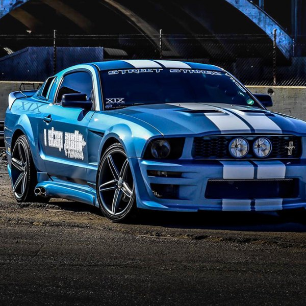 XIX EXOTIC® - X33 Wheels on Ford Mustang