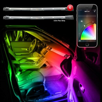 XKGlow® - XKchrome Bluetooth App Control Multicolor LED Accent Kit