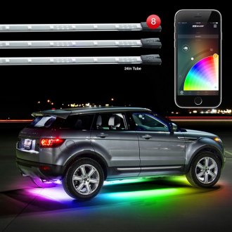 XKGlow® - XKchrome App Control Multicolor LED Underbody and Interior Kit