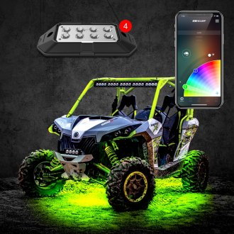 XKGlow® - XKchrome Multicolor LED Rock Light Kit