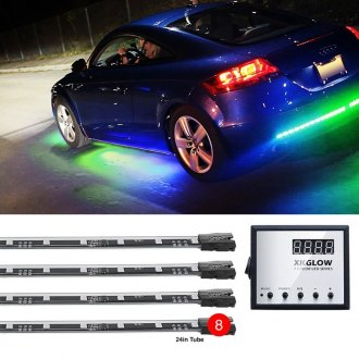 XKGlow® - UFO Style Remote Control Multi-Color LED Underbody Kit