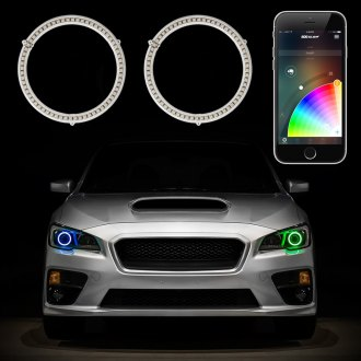 XKGlow® - XKchrome App Controlled Multicolor Switchback Halo Kit for Headlights