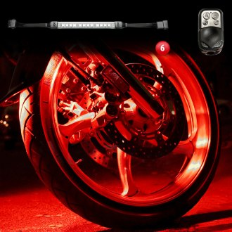 XKGlow® - Ultrabright 15 Color Motorcycle Underglow LED Light Kit With Remote Control